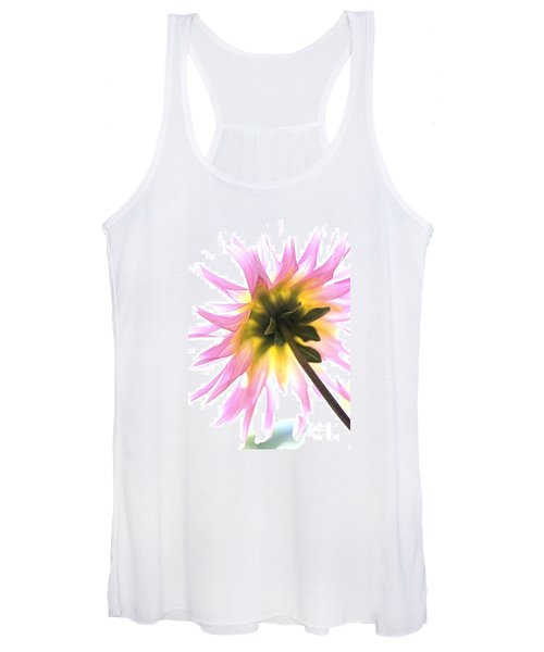 Dahlia Flower Women's Tank Top