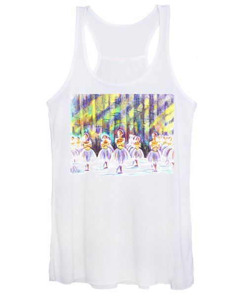 Dancers In The Forest Women's Tank Top