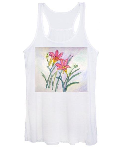 Day Lilies Women's Tank Top