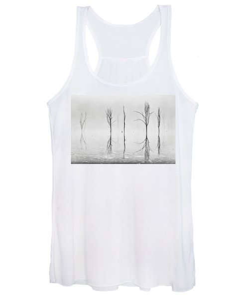 Dead Forest Reflections Women's Tank Top