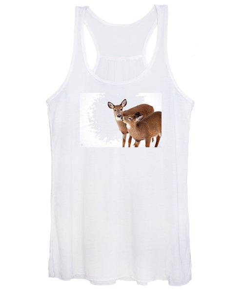 Deer Kisses Women's Tank Top