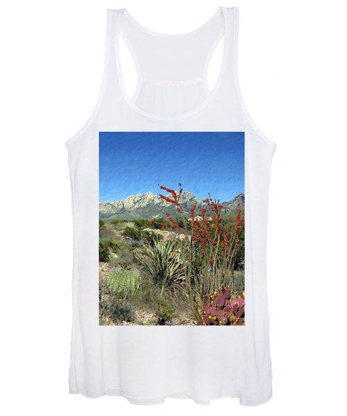 Desert Bloom Women's Tank Top