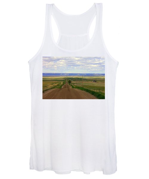 Dirt Road To Forever Women's Tank Top