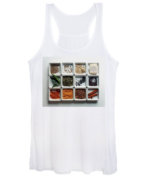 Dishes Of Spices Women's Tank Top