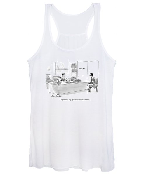 Do You Have Any References Besides Batman? Women's Tank Top