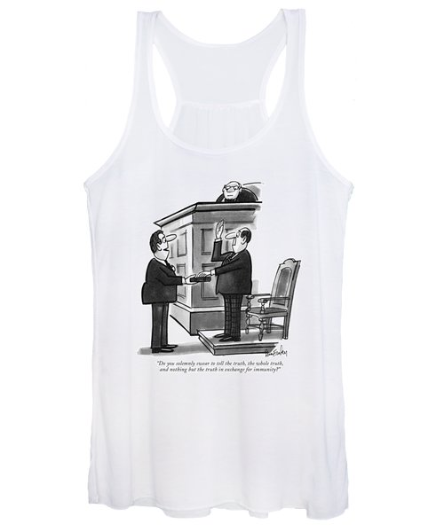 Do You Solemnly Swear To Tell The Truth Women's Tank Top