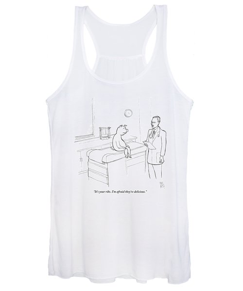 Doctor To Pig Women's Tank Top