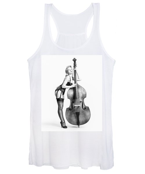 Doghouse With Mosh - String Bass Baby   Women's Tank Top