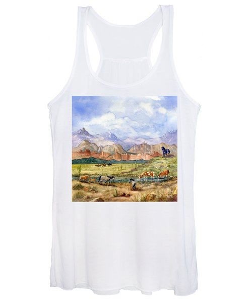 Don't Fence Me In Part Three Women's Tank Top