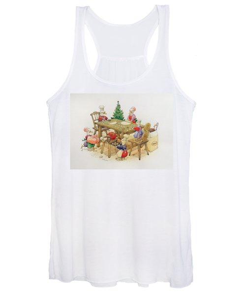 Ducks Christmas Women's Tank Top