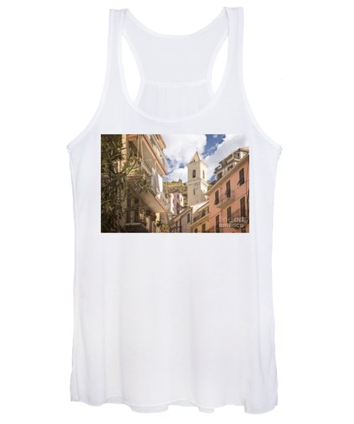 Duomo Bell Tower Of Manarola Women's Tank Top