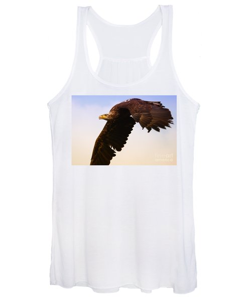 Eagle In Flight Women's Tank Top