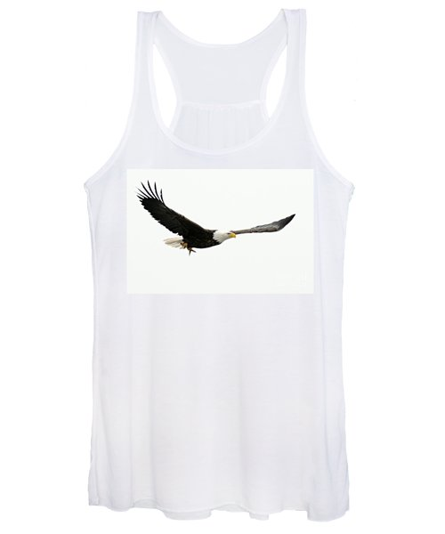 Eagle With Fish Women's Tank Top