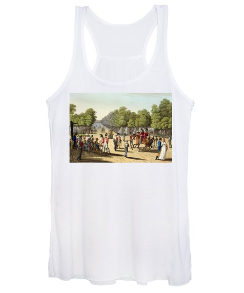 Encampment Of The British Army Women's Tank Top