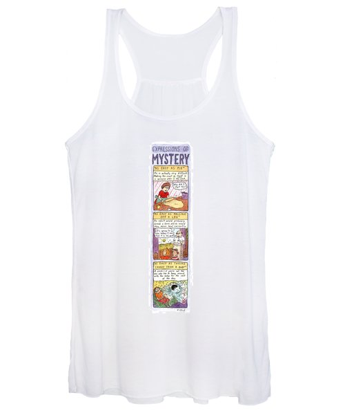 Expressions Of Mystery Women's Tank Top