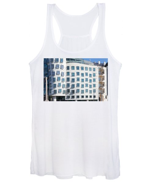 Facade Of Dancing House Or Ginger Women's Tank Top