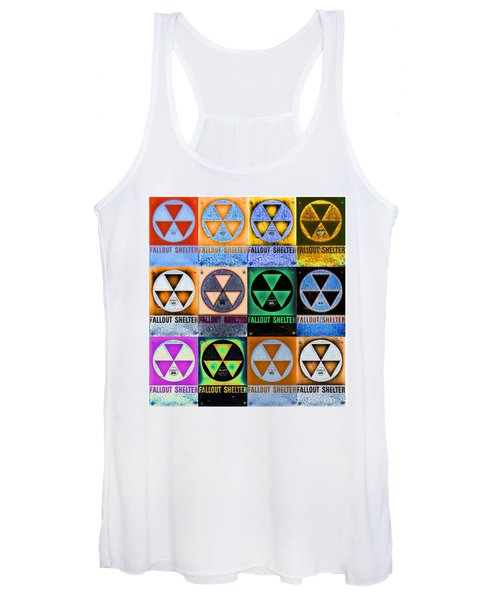 Fallout Shelter Mosaic Women's Tank Top