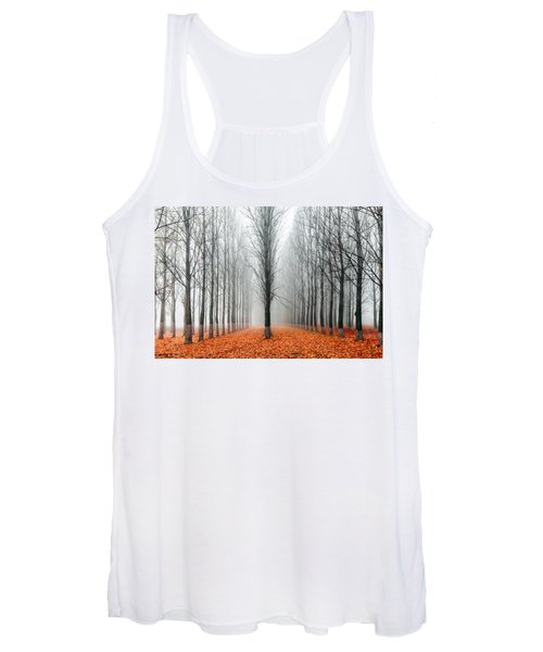 First In The Line Women's Tank Top