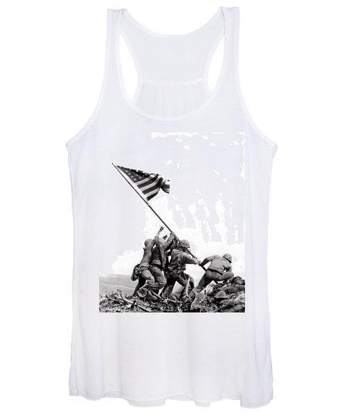 Flag Raising At Iwo Jima Women's Tank Top