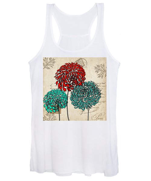Floral Delight Iv Women's Tank Top