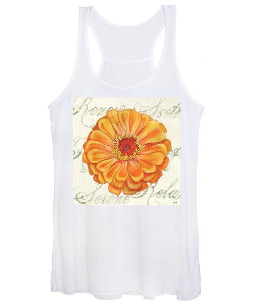 Floral Inspiration 2 Women's Tank Top