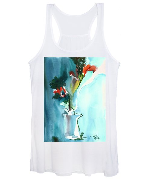 Flowers In Vase Women's Tank Top