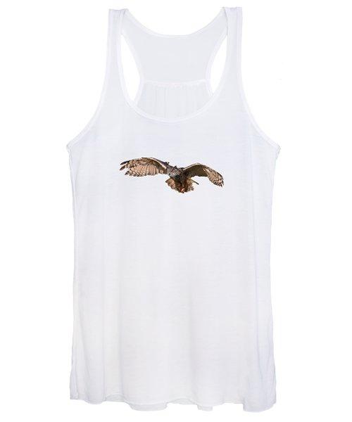 Flying Owl Women's Tank Top