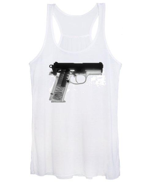 Fn P9a Hand Gun X-ray Print Women's Tank Top