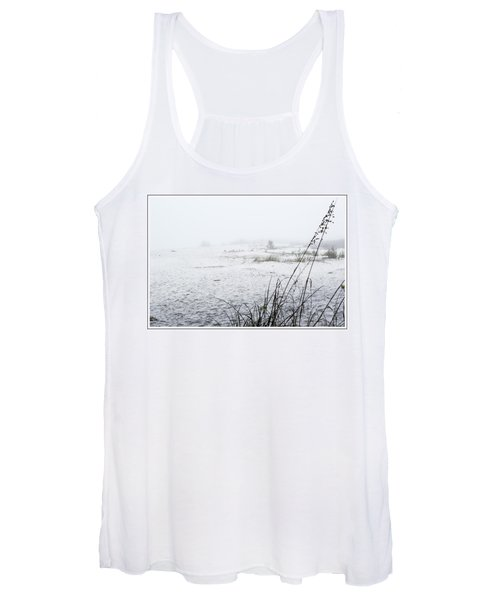 Foggy Beach Women's Tank Top