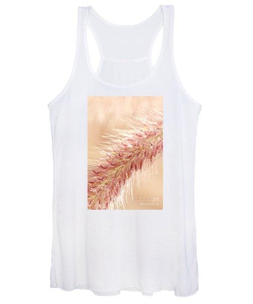 Fountain Grass Blooms   Women's Tank Top