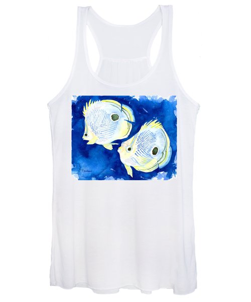 Foureye Butterflyfish Women's Tank Top