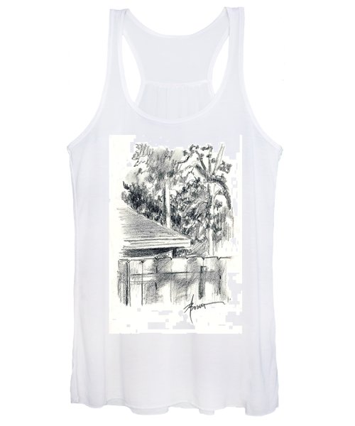 From The Breakfast Room Window Women's Tank Top