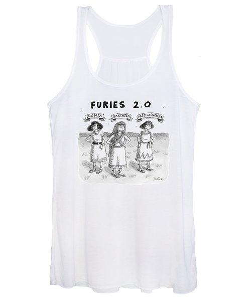 Furies 2.0 -- Ironia Women's Tank Top