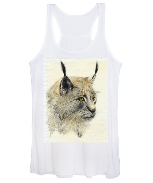 Gazing Lynx Women's Tank Top