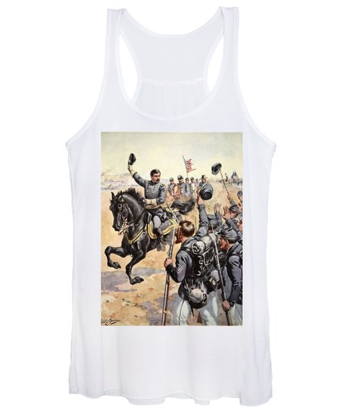 General Mcclellan At The Battle Women's Tank Top