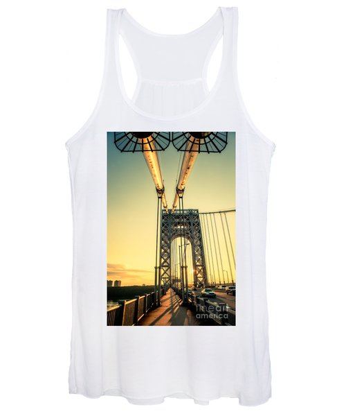 George Washington Sunset Women's Tank Top