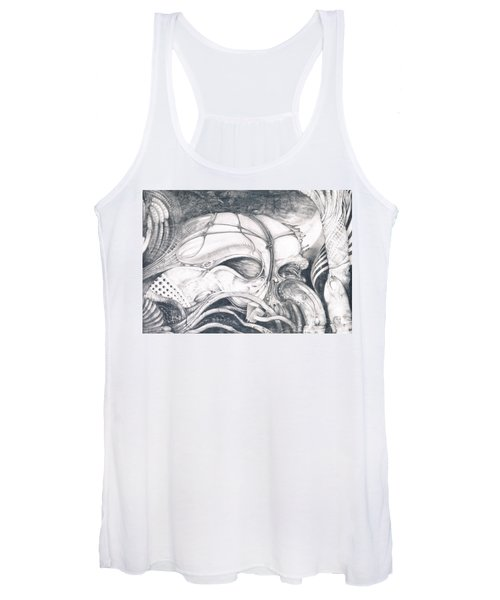 Ghost In The Machine Women's Tank Top