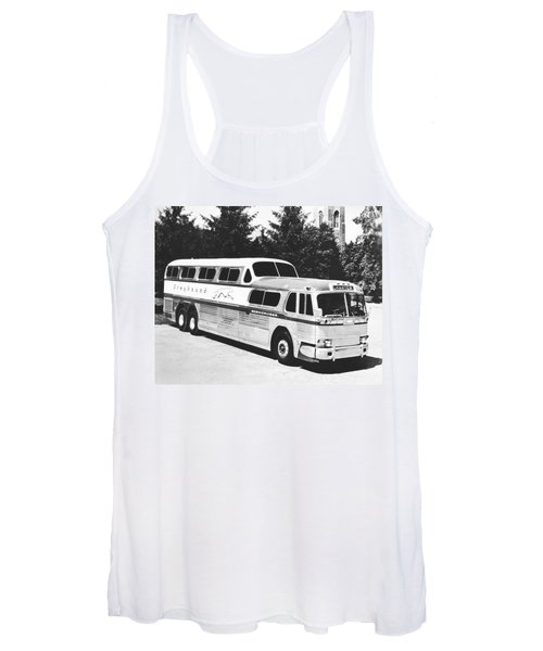 Gm's Latest Bus Line Women's Tank Top