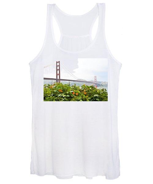 Golden Gate Bridge 2 Women's Tank Top