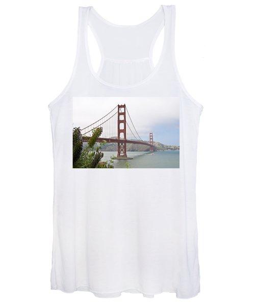 Golden Gate Bridge 3 Women's Tank Top