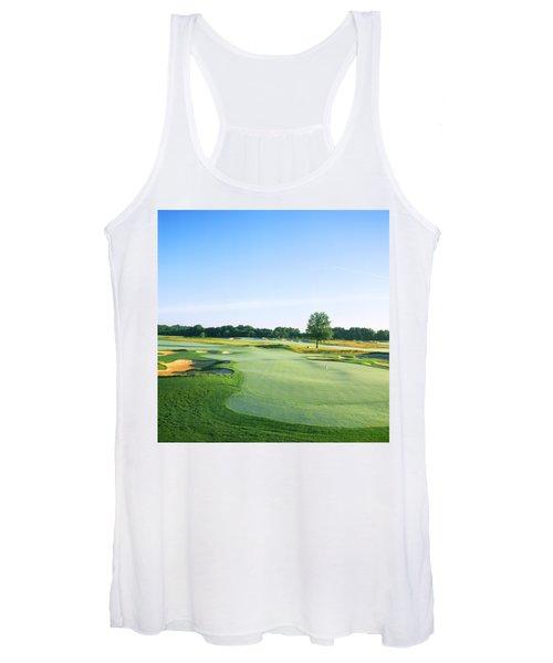 Golf Course, Royce Brook Golf Club Women's Tank Top