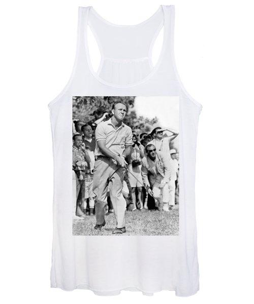 Golfer Arnold Palmer Women's Tank Top