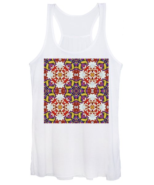 Graffito Kaleidoscope 40 Women's Tank Top