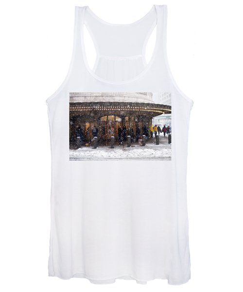 Grand Central Terminal Snow Color Women's Tank Top