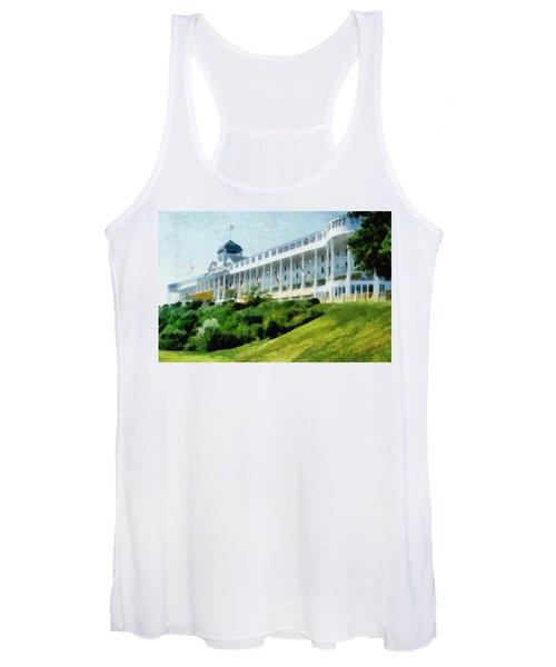 Grand Hotel Mackinac Island Ll Women's Tank Top