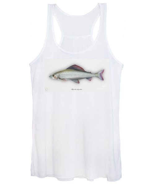 Grayling - Thymallus Thymallus - Ombre Commun - Harjus - Flyfishing - Trout Waters - Trout Creek Women's Tank Top