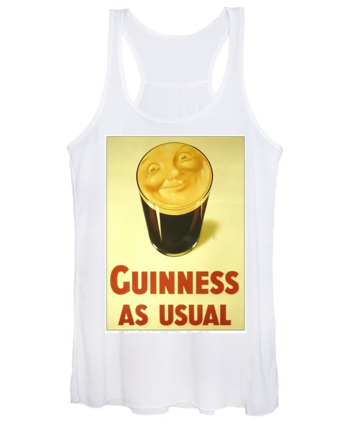 Guinness As Usual Women's Tank Top