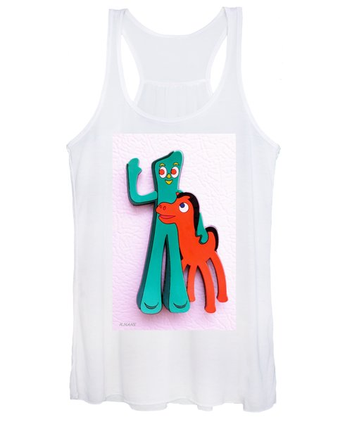 Gumby And Pokey B F F Women's Tank Top