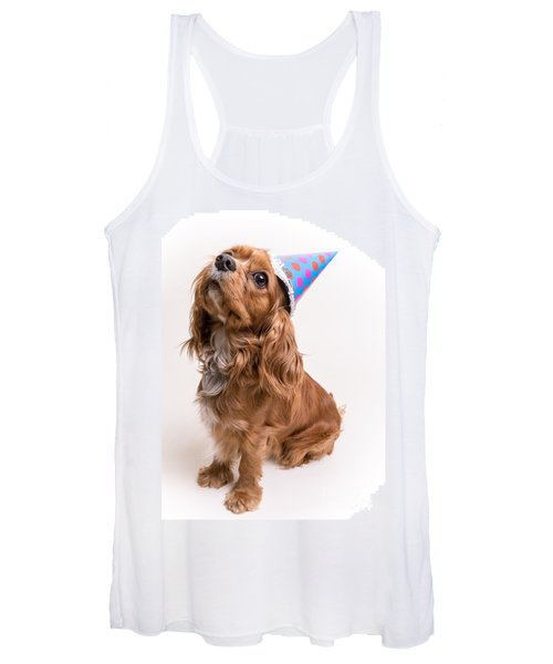 Happy Birthday Dog Women's Tank Top