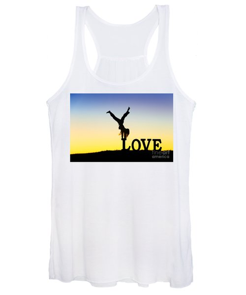 Head Over Heels In Love Women's Tank Top